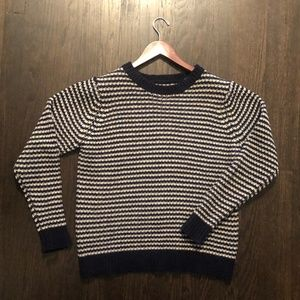 SHADES of GREY by Micah Cohen Striped Sweater